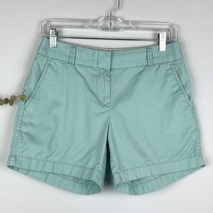 J. Crew Robins Egg Blue Broken-In Chino Shorts